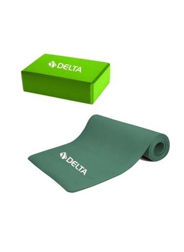 Delta Delta 10 Mm Mat Pilates Minderi Yoga Blok Yoga Köpügü Renkli